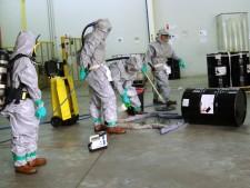 High Bio Clean Up Hazard
