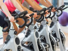 Spin & Fitness Studio  with 2,500 members